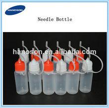 Stock now!!30ml pe needle bottle liquid dropper bottles plastic dropper needle bottles