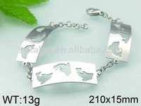 Dolphin shaped newest design fashion health bracelet