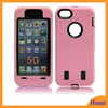 Lux Mobilephone Cases PC Silicone Case for iphone 5s Pink Cell Phone