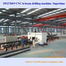 CNC beam processing line Tandem Drill and Saw Systems Model SWZ1000