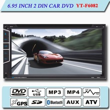 """2 din universal 7"""" car dvd player car radio gps with bluetooth tv function"""