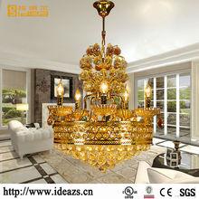 bulb guard antique brass base hanging light