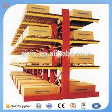 Heavy Duty Moludar Post Pallet Steel Sheet Cantilever racks