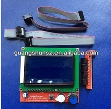 Best price !!! 3D printer smart controller RAMPS 1.4 LCD 12864 LCD control panel blue screen