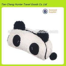 China supplier Cute Soft Plush Panda Pencil Case
