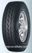 PCR tires made in china tires 165R14LT 6PR HD517 HAIDA BRAND