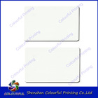 blank plastic card for laser printing machine / glossy finished /factory directly