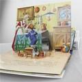شخصية كرتونية لطيف كتاب الأطفال محو الأمية