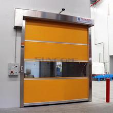 electirc chinese industrial sandwich panel sliding doors