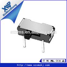 DC50V 0.5A Panel mini 8 pin slide switch solder lug