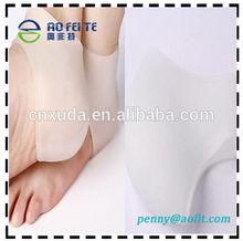 2pc Silicone Gel Heel Dry Hard Cracked Skin Moisturising Protector Open Toe Sock