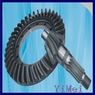 High quality cnc gear hobbing machine with crown wheel pinion made in china