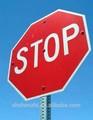 Eco- friendly triângulo de sinalização de trânsito