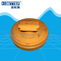 Good quality Hitachi ex200-3 front idler factory china forge part in fujian