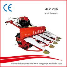 Good quality mini harvester for harvesting wheat