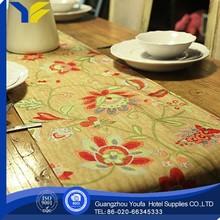 woven china wholesale pvc vinyl modern table runner
