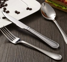 Stainless steel dinner set/cutlery set 18/10 stainless steel fork spoon