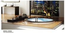 G-27485 blue film shower cabin shower room foot massage