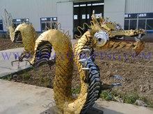 Dragon Steel Sculpture/The Chinese Zodiac Steel Art/Outdoor Decoration Sculpture