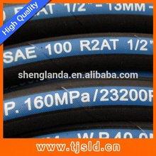 High quality classical high pressure black rubber hose pipe
