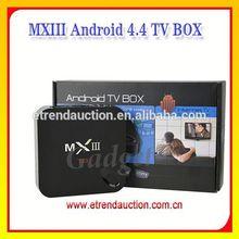 Android Smart TV Box IPTV XBMC/KODI Box , Amlogic Quad Core Supports Google TV Maet