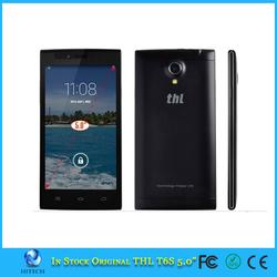 THL T6S MTK6582M Quad Core WCDMA 3G Dual SIM Android 4.4 Phone 1G RAM 8G ROM 5MP 1900mAh GPS WIFI Cell phones