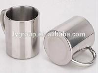 Wholesales stainless steel coffee soup mug/stainless steel double wall insulated coffee mug with handle/tea mug
