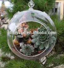 wholesale fashion clear glass balls ornament MH12878