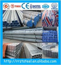"""1"""" steel pipe/tube/metal bs1387/roller tube/pipe"""