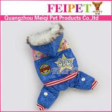 Stylish cat dog clothing,winter dog coat wholesale