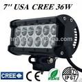2014 nouveau CREE 36 W LED lumière Bar pour tracteurs, Atv, Utv, Suv étanche