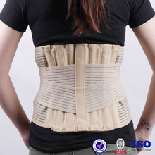 Adjustable spandex medical hot-selling breathable compression corset belt China factory velcro waist trimmer
