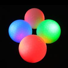 Cheap colorful LED Flash Golf Ball