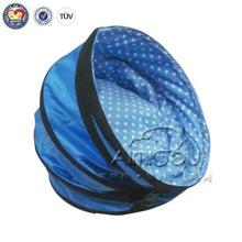 QQuan Custom design blue waterproof pet dog tent