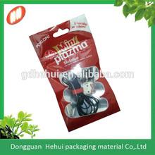 Manufacturer plastic custom printed zip lock pouch
