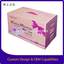 Wholesale cardboard custom shipping boxes