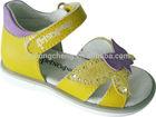 2015 new design kid leather sandal shoe for girl AC191S2