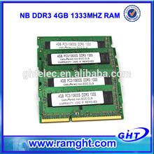 Best quanlity Factory cheapest memoria ram 4gb ram computer ram scrap ddr3 laptop ram