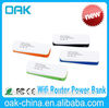best 3g wifi wireless portable router,High-power pocket power bank,Portable 3G WIFI router power bank
