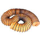 Fire resistant flexible duct