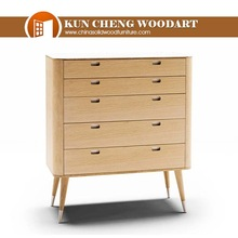 Korea simple style pinewood cabinet with drawers 33