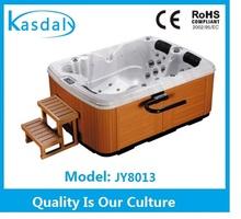 2100mm hot tub acrylic massage outdoor spa