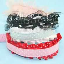 Lace elegant puppy necklace collar, elastice pet dog cat collar