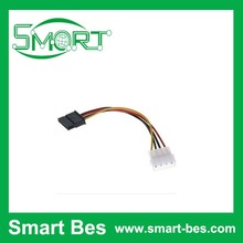 SmartBes~SATA power cord D type 4pin turn serial port power cord SATA turn IDE hard disk serial power wire ,sata cable