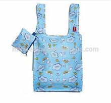Snoopy RAINBOW BALLON BLUE FOLDABLE SHOPPING Hand Bag