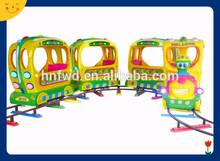 kiddie amusement track train rides electric train games for sale