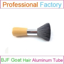 natural hair blush face makeup brush with wooden makeup brush