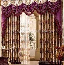 2014new luxury different styles of hanging door curtain