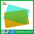 Low-Cost hochwertige transluzenten polycarbonat geprägte platten