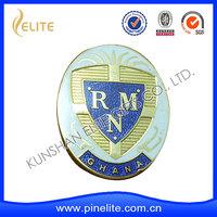 customized metal logo lapel pin,zinc alloy military cap badges with good price